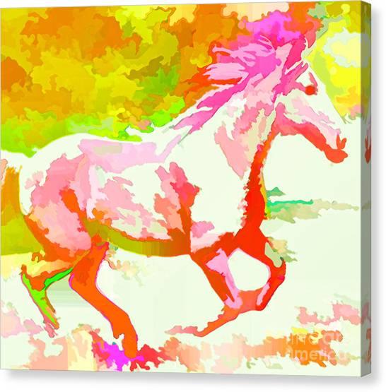 Born Free Canvas Print