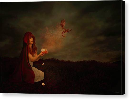 Born Of Magic Canvas Print