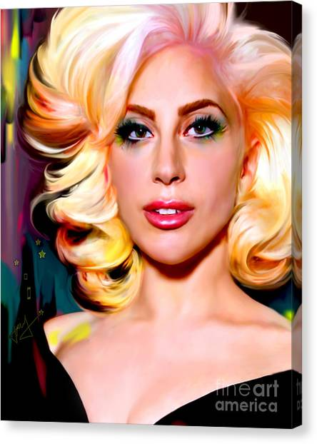 Born This Way, Lady Gaga Canvas Print