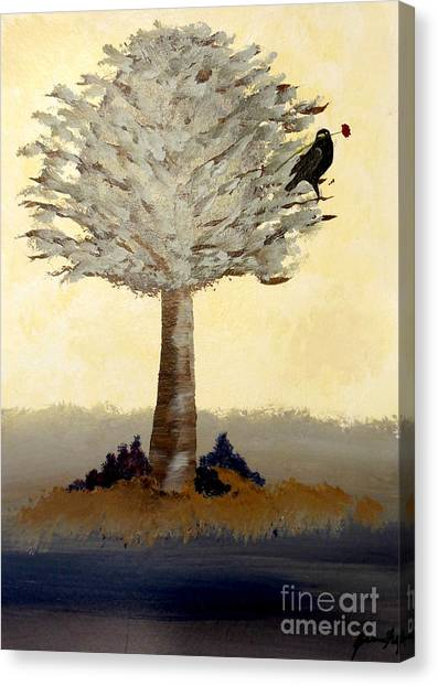Borrowed Poppy Canvas Print