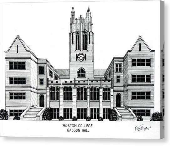 Boston College Canvas Print