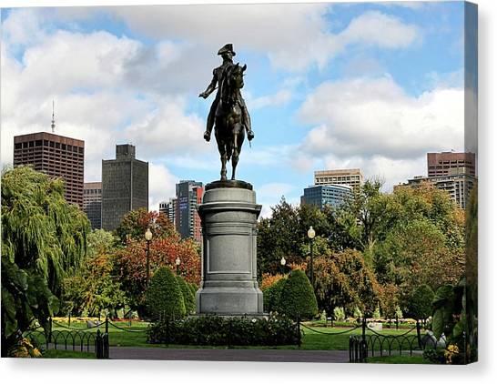 Boston Common Canvas Print