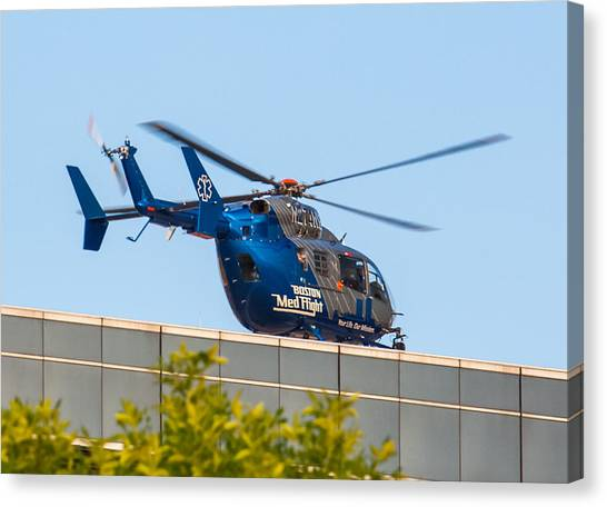 Boston Medflight Canvas Print
