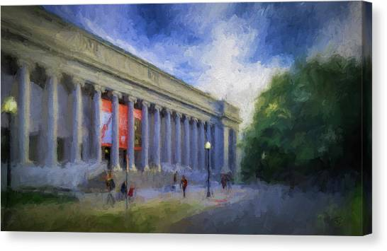 Boston Mfa On The Fenway Canvas Print