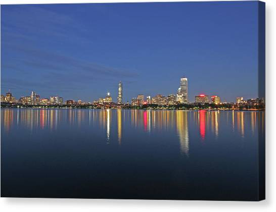 Boston Tallest Skyscrapers Canvas Print by Juergen Roth