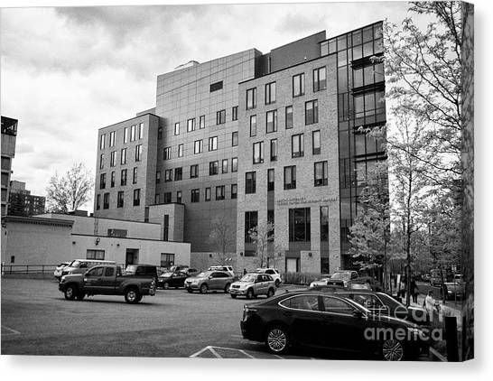 Patriot League Canvas Print - Boston University Yawkey Center For Student Services Usa by Joe Fox
