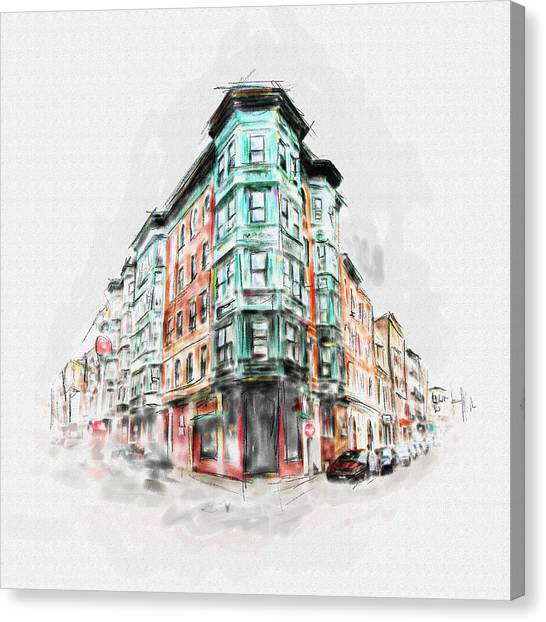Bostons North End 222 1 Canvas Print