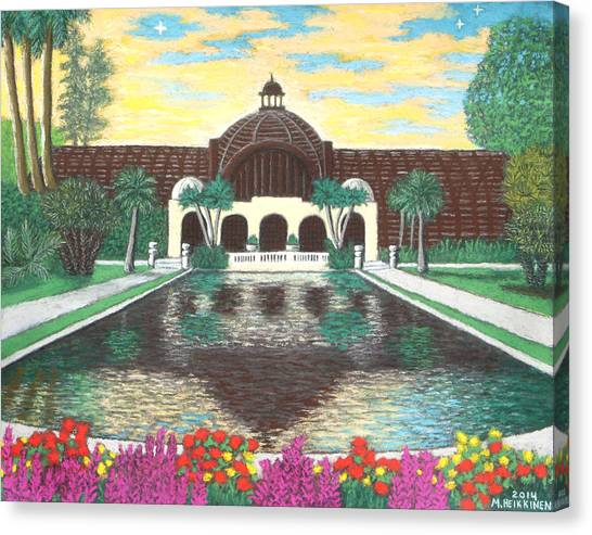 Botanical Building In Balboa Park 01 Canvas Print