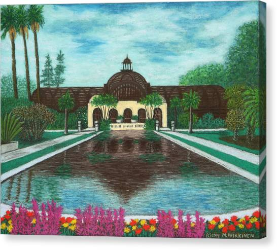 Botanical Building In Balboa Park 02 Canvas Print