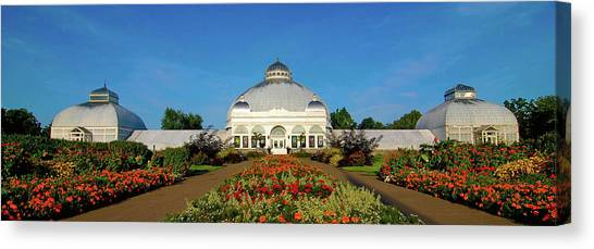 Botanical Gardens 12636 Canvas Print