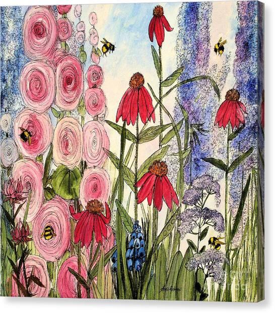 Botanical Wildflowers Canvas Print