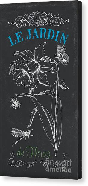 Daffodils Canvas Print - Botanique 2 by Debbie DeWitt