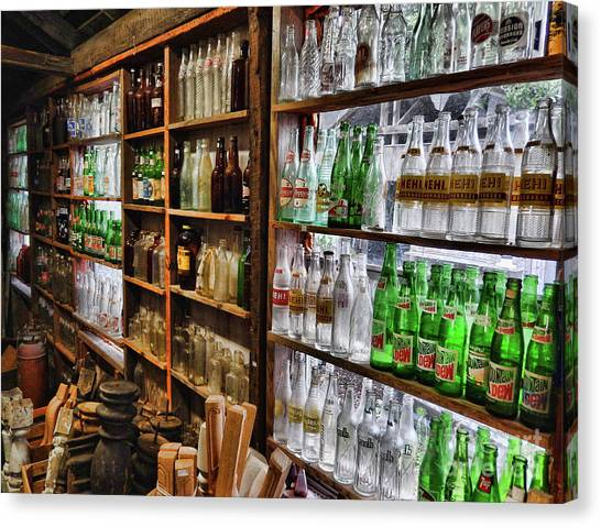 Mountain Dew Canvas Print - Bottle Collections by Kelley Freel-Ebner