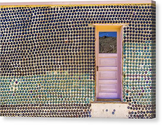 Bottle House Canvas Print