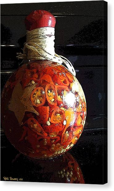 Bottled Fire Canvas Print