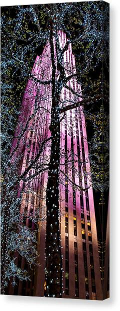 Futurism Canvas Print - Bottom Of The Rock by Az Jackson