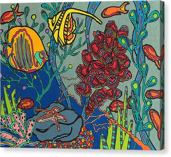 Bottom Of The Sea Canvas Print