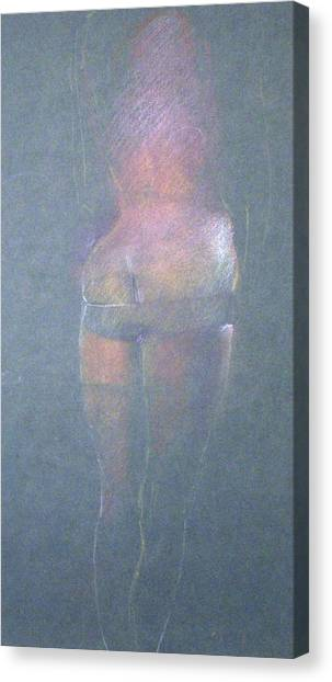 Bottom Canvas Print by William Girven