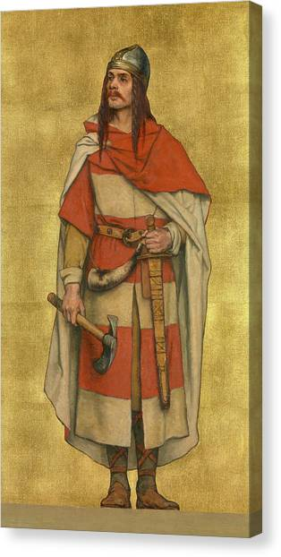 Mercy Canvas Print - Baldwin Vii Of Flanders by Albert De Vriendt