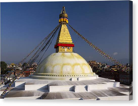 Boudhanath Stupa Canvas Print