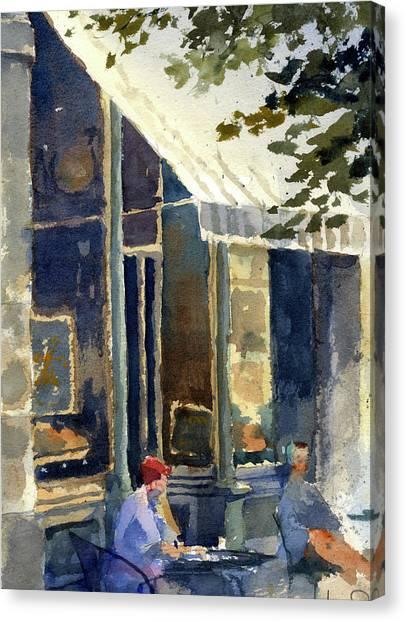 Boulangerie Du Monde, Cedarburg Canvas Print