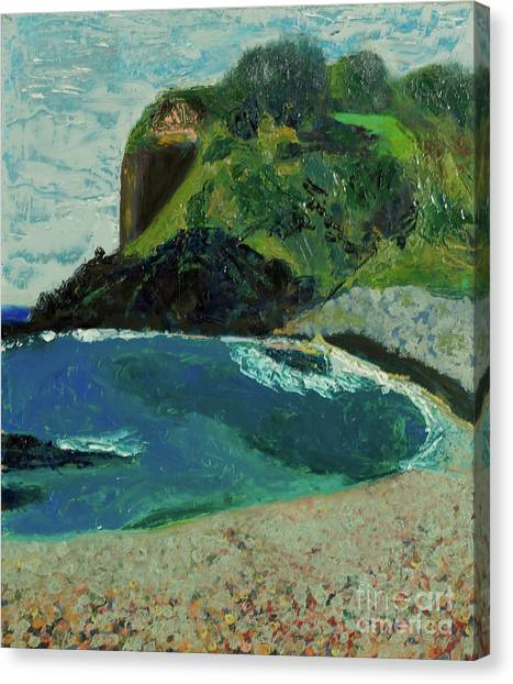 Boulder Beach Canvas Print