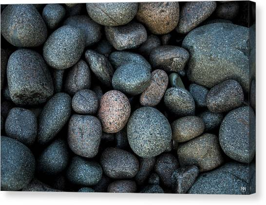 Boulder Beach Rocks Canvas Print