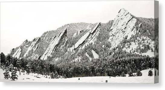 Boulder Flatirons Colorado 1 Canvas Print