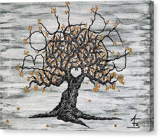 University Of Colorado Canvas Print - Boulder Love Tree by Aaron Bombalicki
