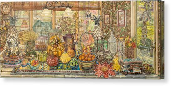 Bountiful Harvest Canvas Print