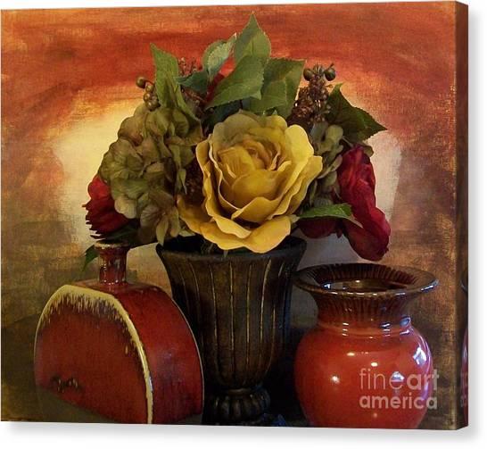 Bouquet Decor Ll Canvas Print