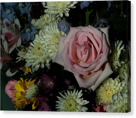 Bouquet For A Friend Canvas Print