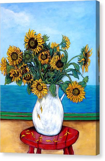 Bouquet Of Beauty Canvas Print