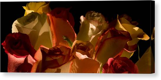 Bouquet Of Shadows Canvas Print