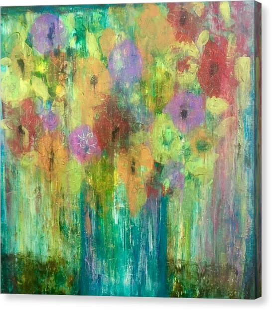 Bouquet Of Understanding Canvas Print