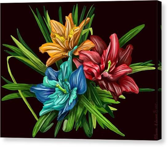 Bouquet#1 Canvas Print