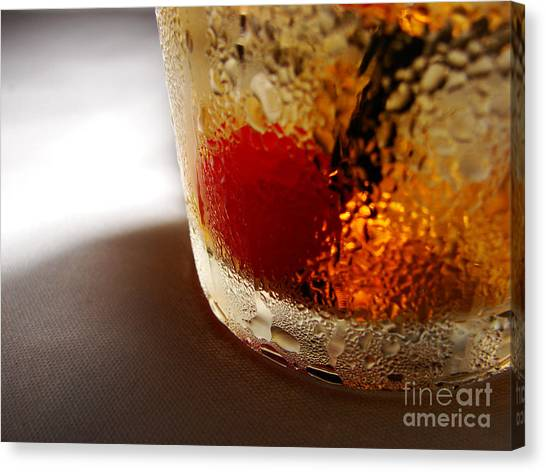 Bourbon Chill Canvas Print