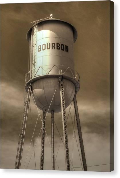 Bourbon Canvas Print - Bourbon by Jane Linders