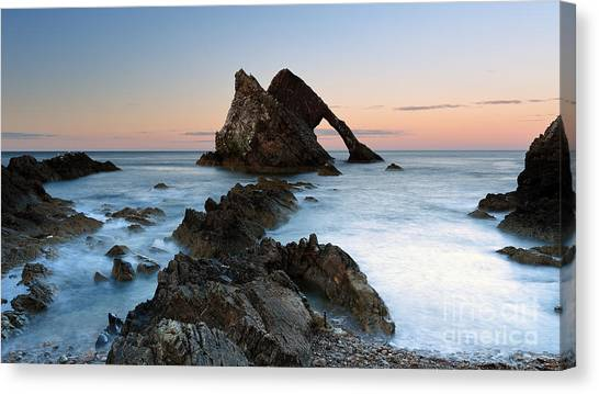 Bow Fiddle Rock At Sunset Canvas Print