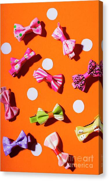 Celebration Canvas Print - Bow Tie Party by Jorgo Photography - Wall Art Gallery
