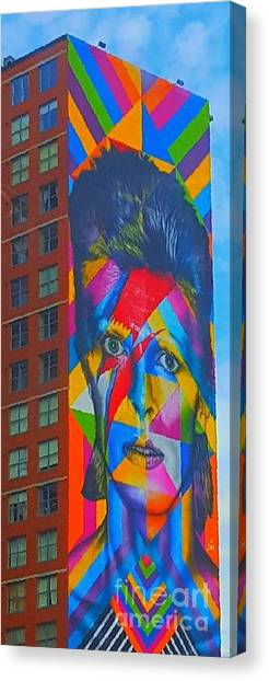 Bowie Canvas Print by Stacey Brooks