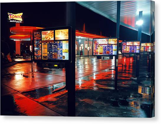 Bowling Green Sonic Drive-in Canvas Print