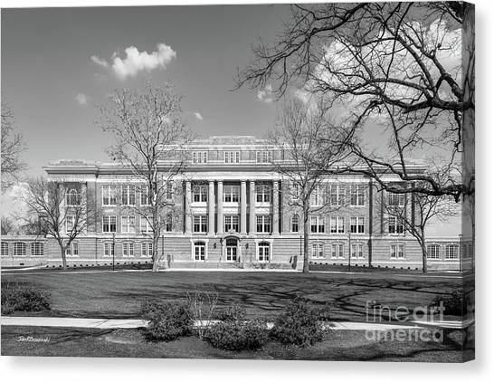 Bowling Canvas Print - Bowling Green State University Hall by University Icons