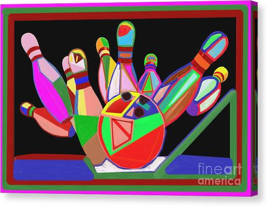 Bowling Sports Fans Decoration Acrylic Fineart By Navinjoshi At Fineartamerica.com  Down Load  Jpg F Canvas Print