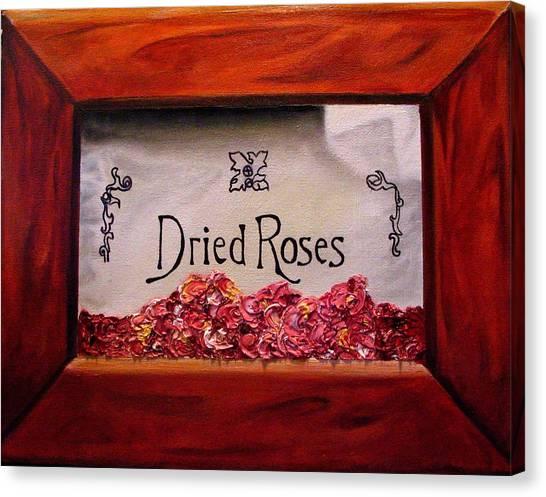 Box Of Roses Canvas Print