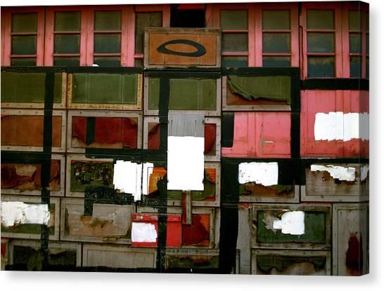Boxed Scramble Canvas Print by Jez C Self