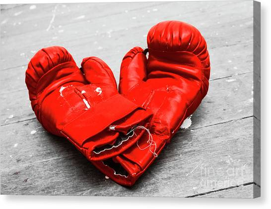 Knockout Canvas Print - Boxer Still Life by Jorgo Photography - Wall Art Gallery
