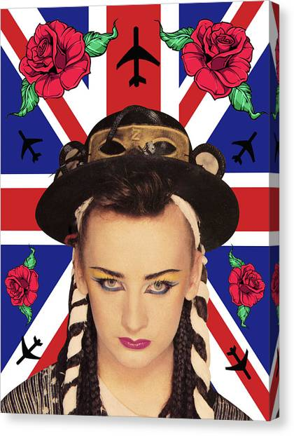 Canvas Print - boy George 7 by Mark Ashkenazi