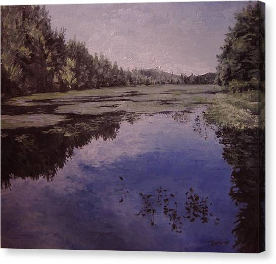 Boy Scout Reservation Canvas Print by Richard Ong