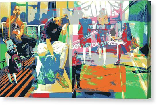 Boylston Canvas Print by Shay Culligan